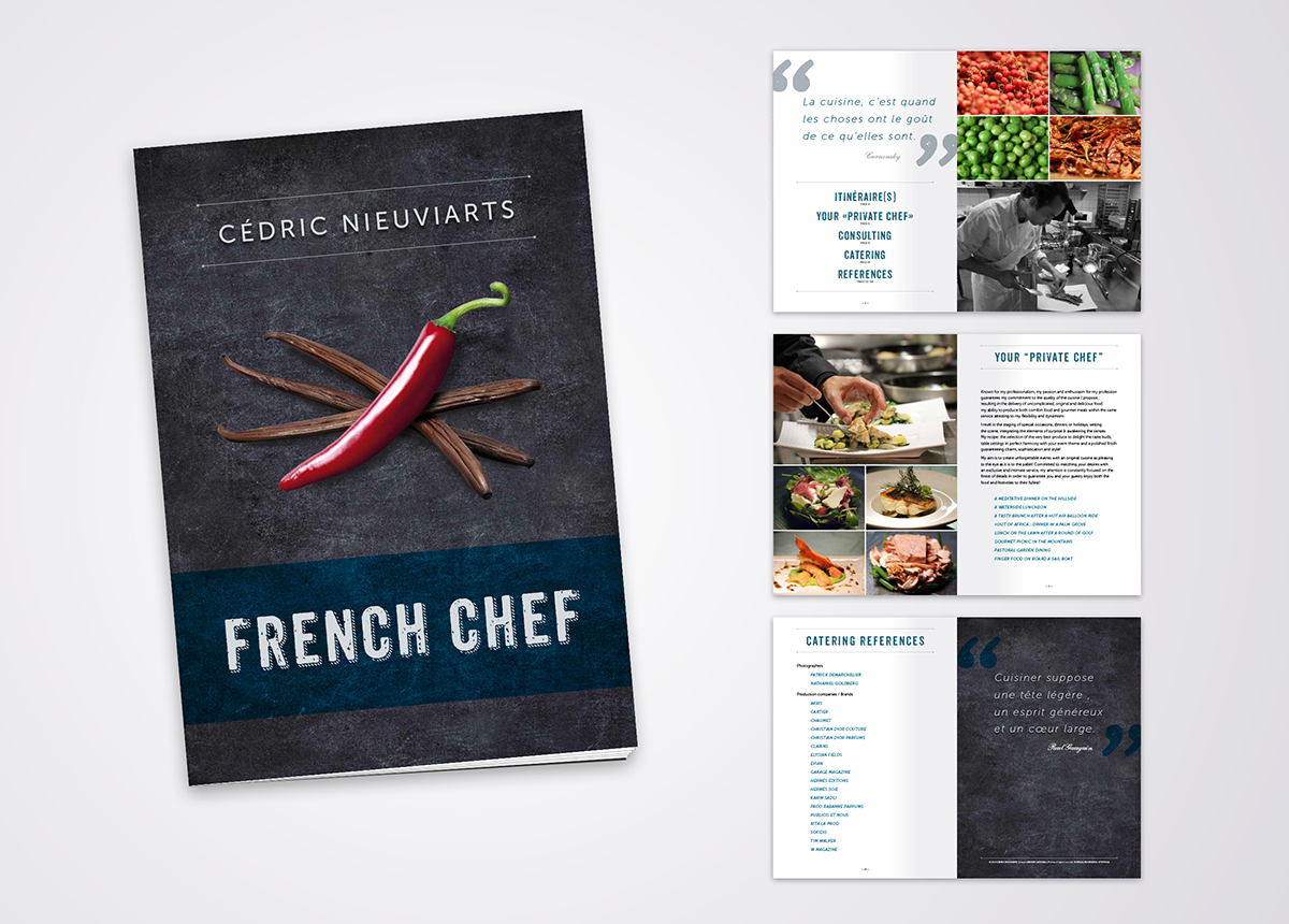 Brochure French Chef