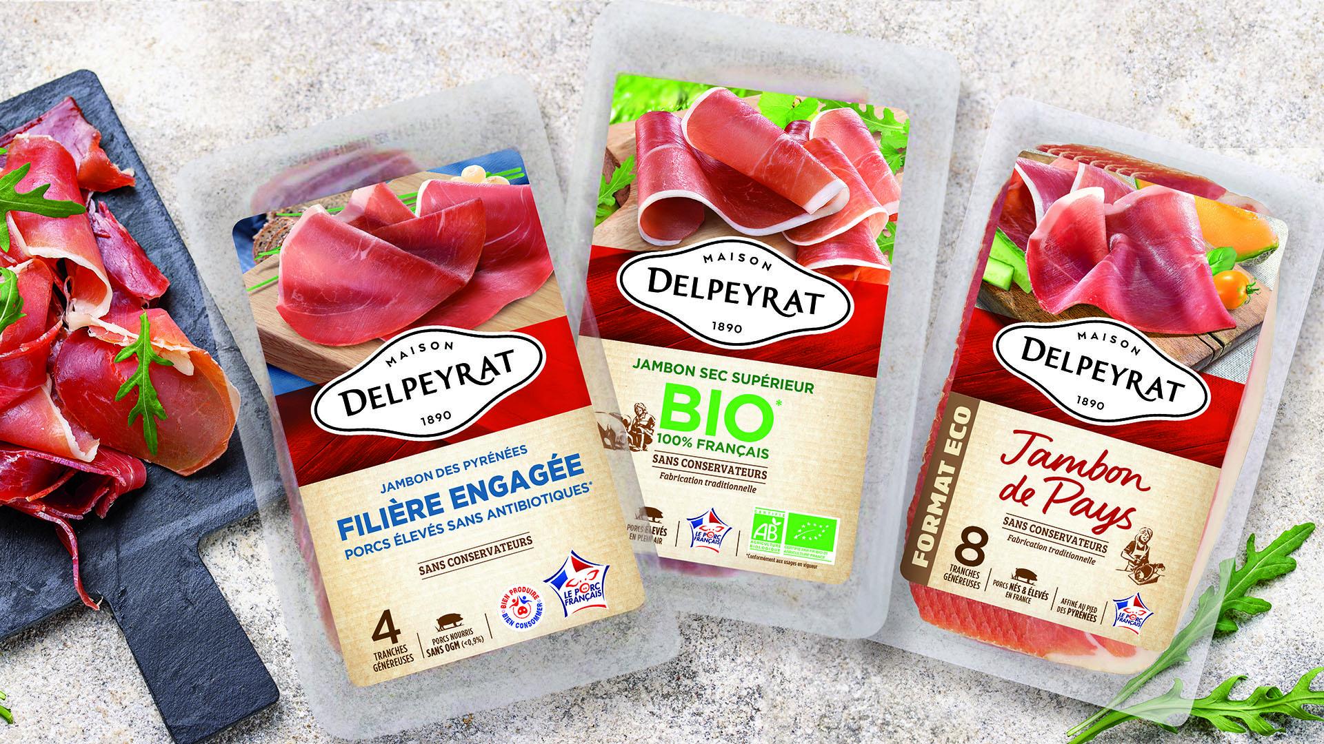 Packaging Jambons Delpeyrat
